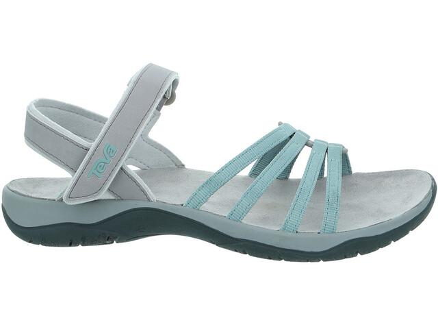 5b88b47e996ee0 Teva Elzada WEB Sandalen Dames grijs turquoise l Online bij outdoor shop  campz.nl